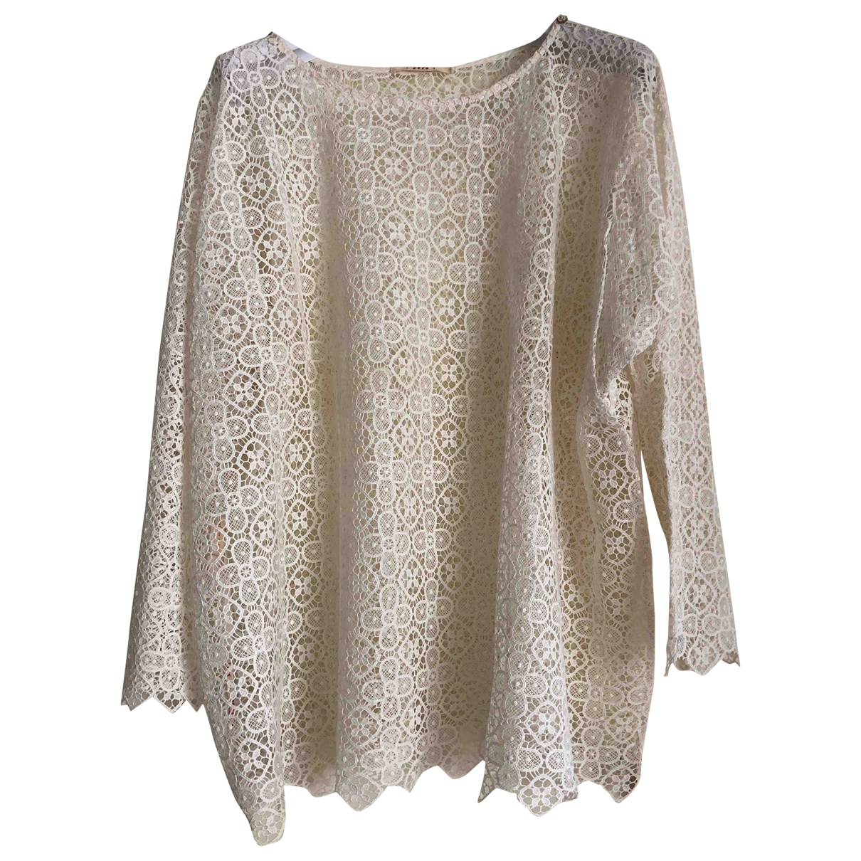 Non Signé / Unsigned \N Cotton  top for Women 34 FR