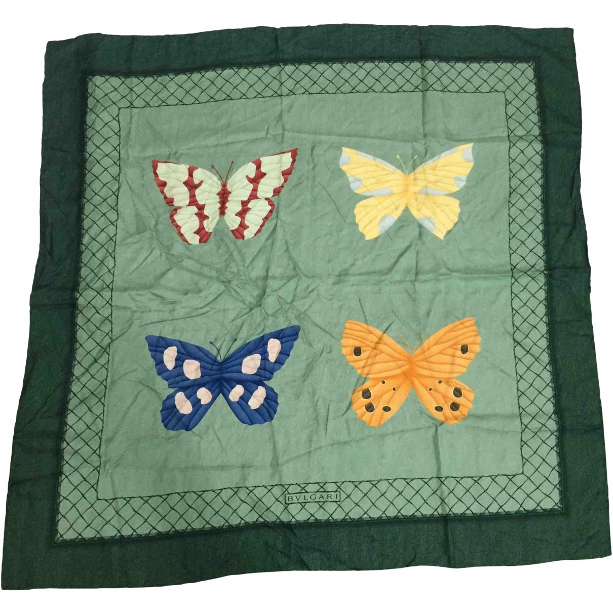 Bvlgari - Foulard   pour femme en soie - multicolore