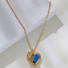 DIY Halskette mit Herzen Dekor