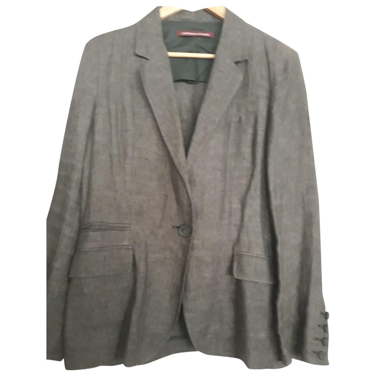 Comptoir Des Cotonniers \N Grey Linen jacket for Women 42 FR