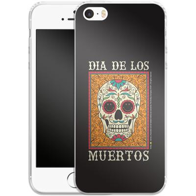 Apple iPhone SE Silikon Handyhuelle - Dia De Los Muertos von Smiley®