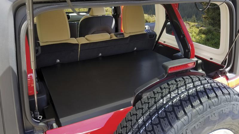 Tuffy Security 345-01 Tuffy; Security Deck Enclosure Jeep Wrangler 2018