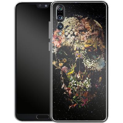 Huawei P20 Pro Silikon Handyhuelle - Smyrna Skull von Ali Gulec