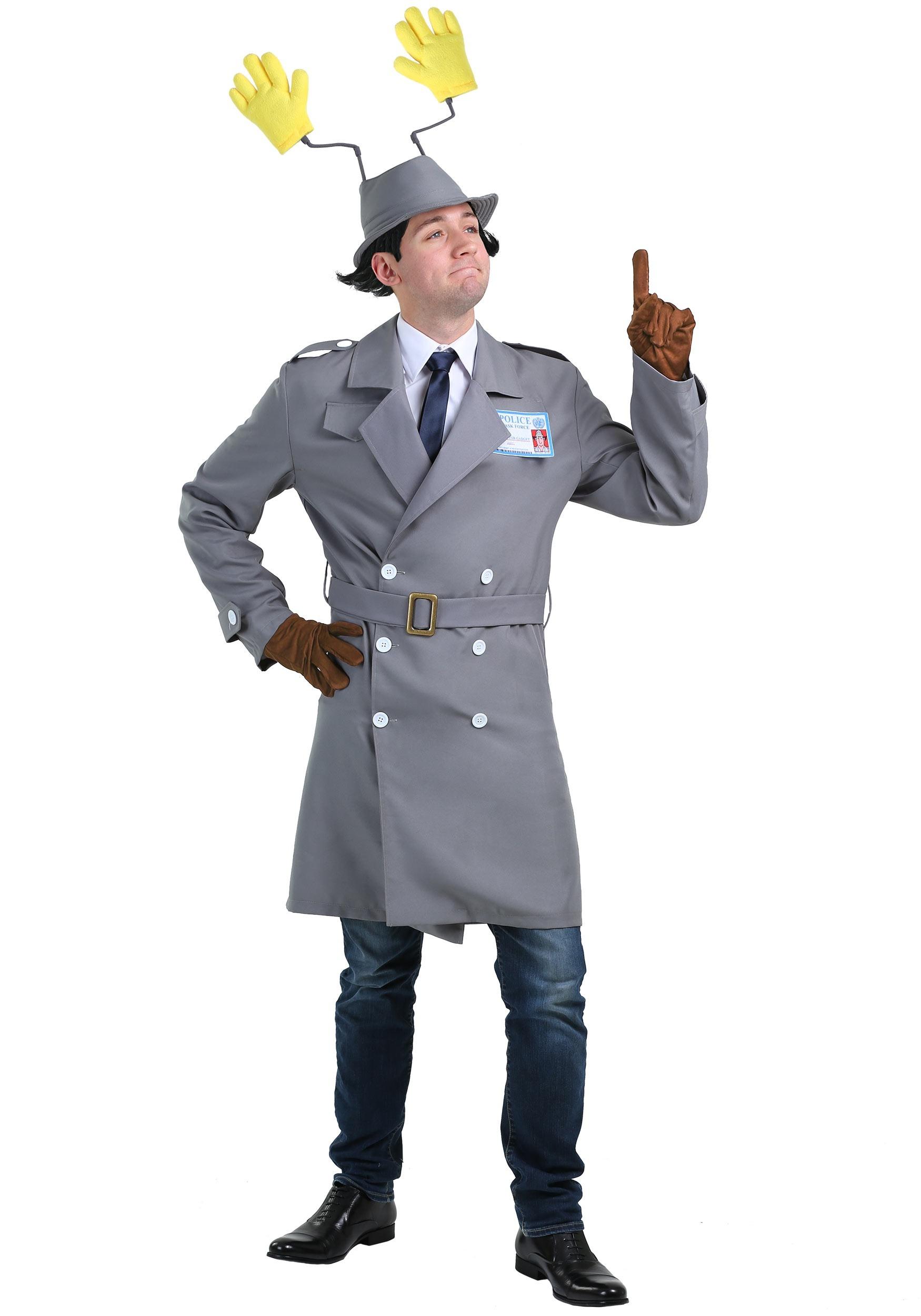 Inspector Gadget Costume for Men