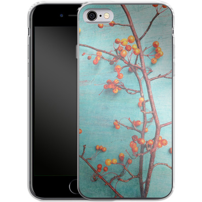 Apple iPhone 6s Silikon Handyhuelle - She Hung Her Dreams on Branches von Joy StClaire