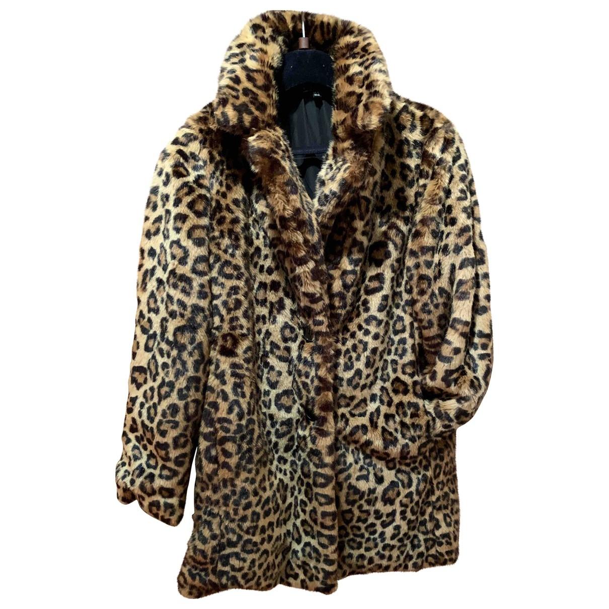 Zara \N Multicolour Faux fur coat for Women M International