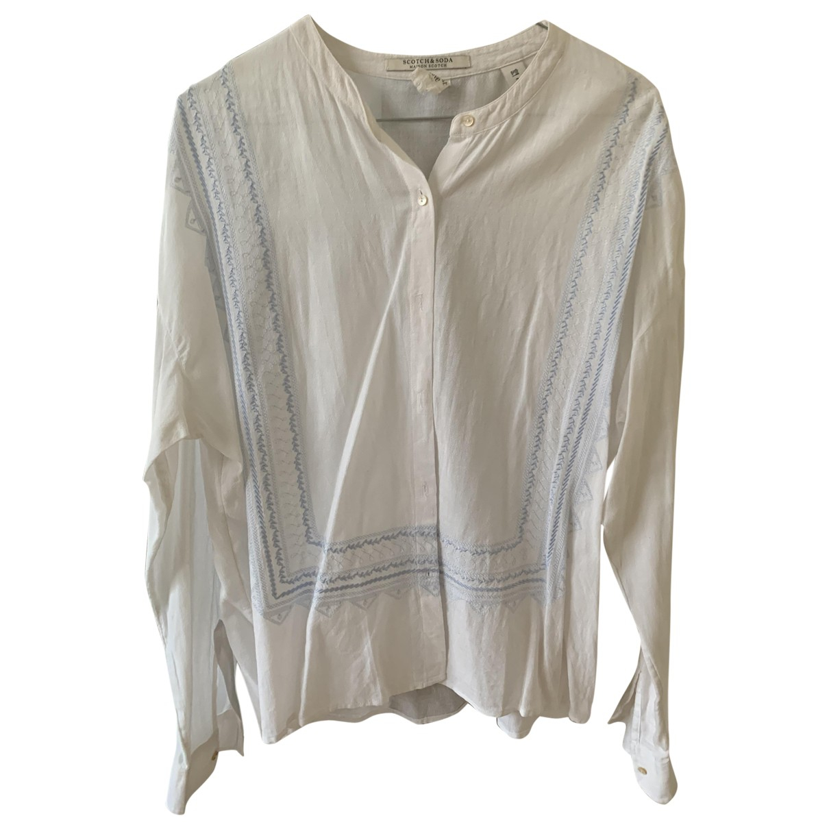 Scotch & Soda \N White Cotton  top for Women 2 US