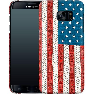 Samsung Galaxy S7 Edge Smartphone Huelle - USA von Bianca Green