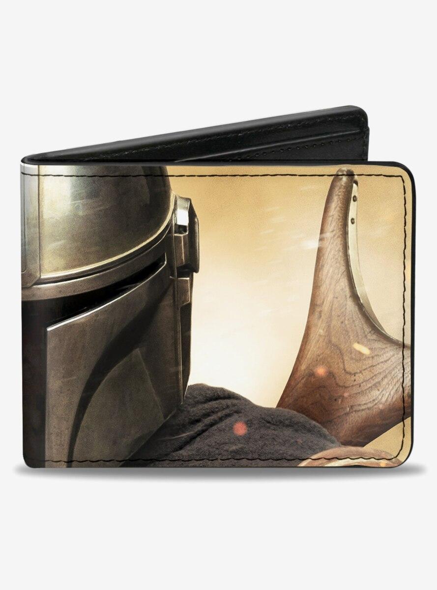 Star Wars The Mandalorian Vivid Pose Bifold Wallet