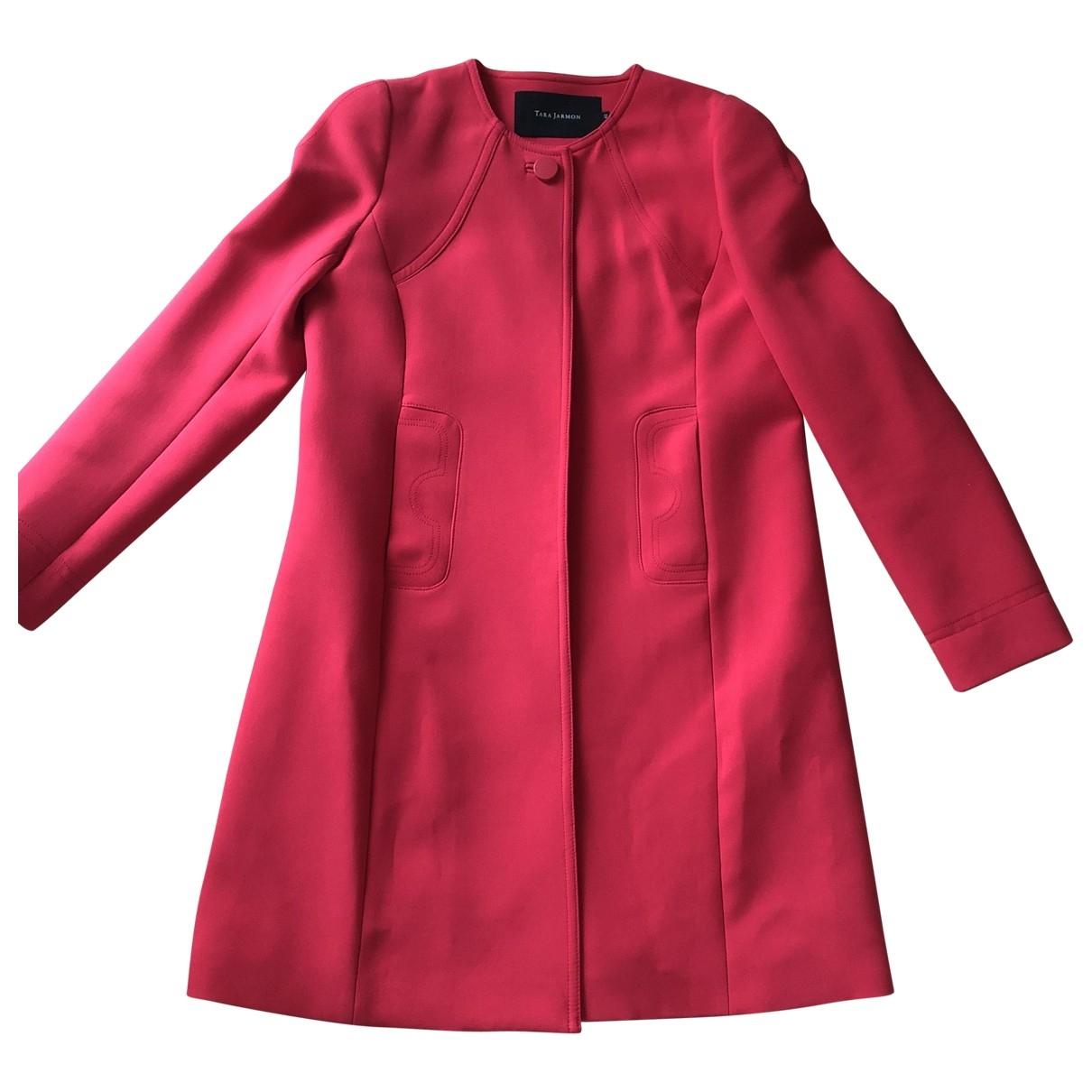 Tara Jarmon \N Pink coat for Women 42 FR