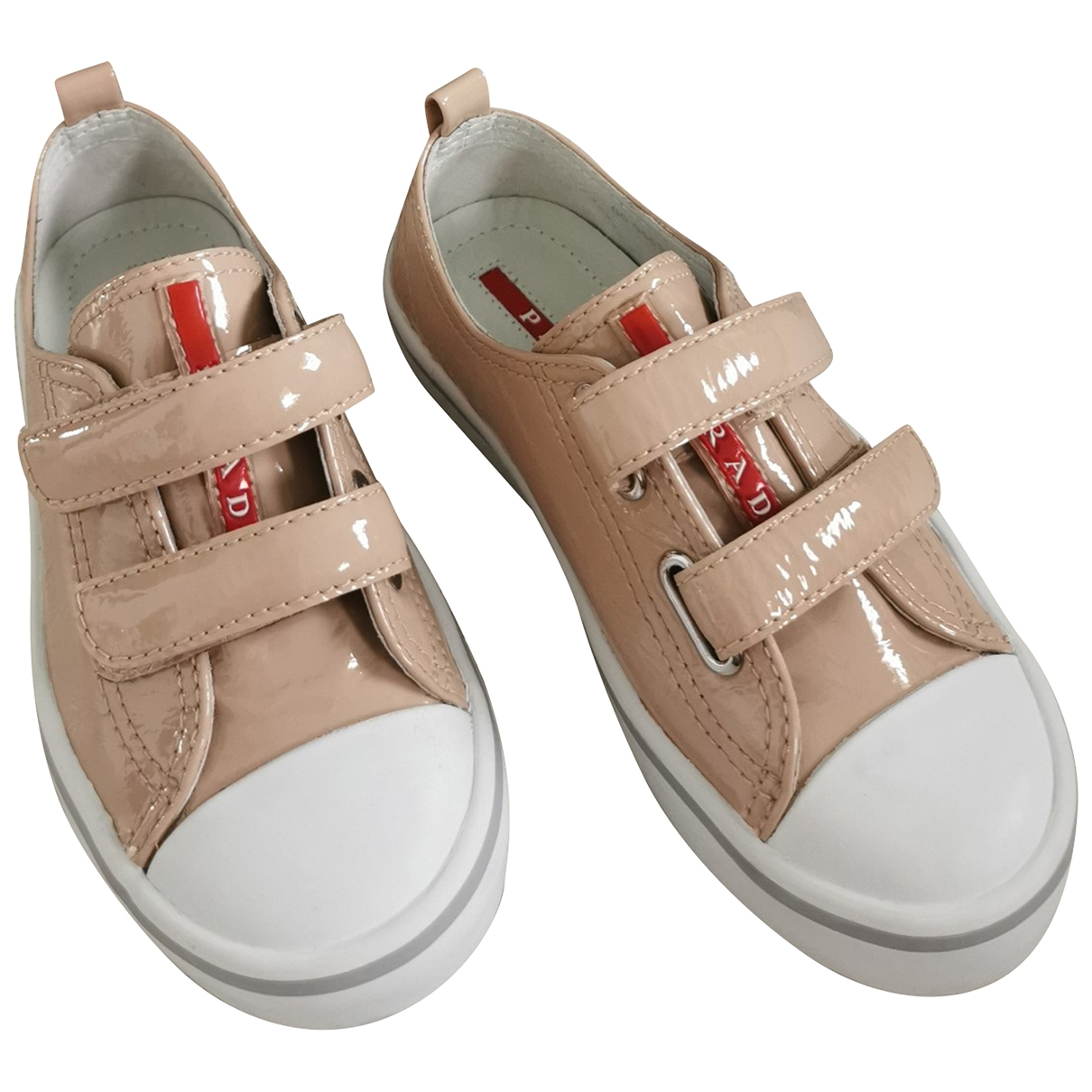 Prada \N Pink Patent leather Trainers for Kids 28 EU