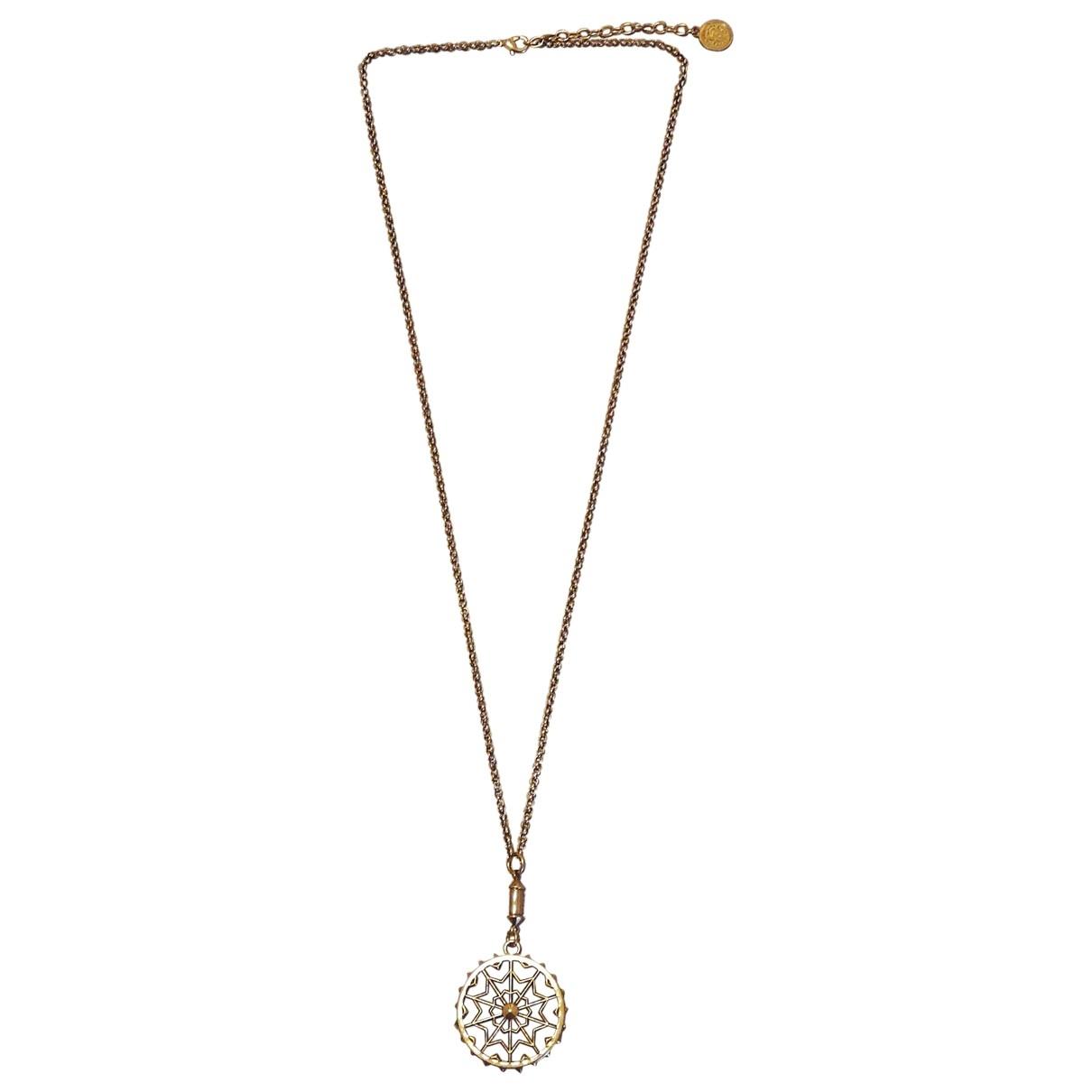 Roberto Cavalli \N Halskette in  Gold Metall