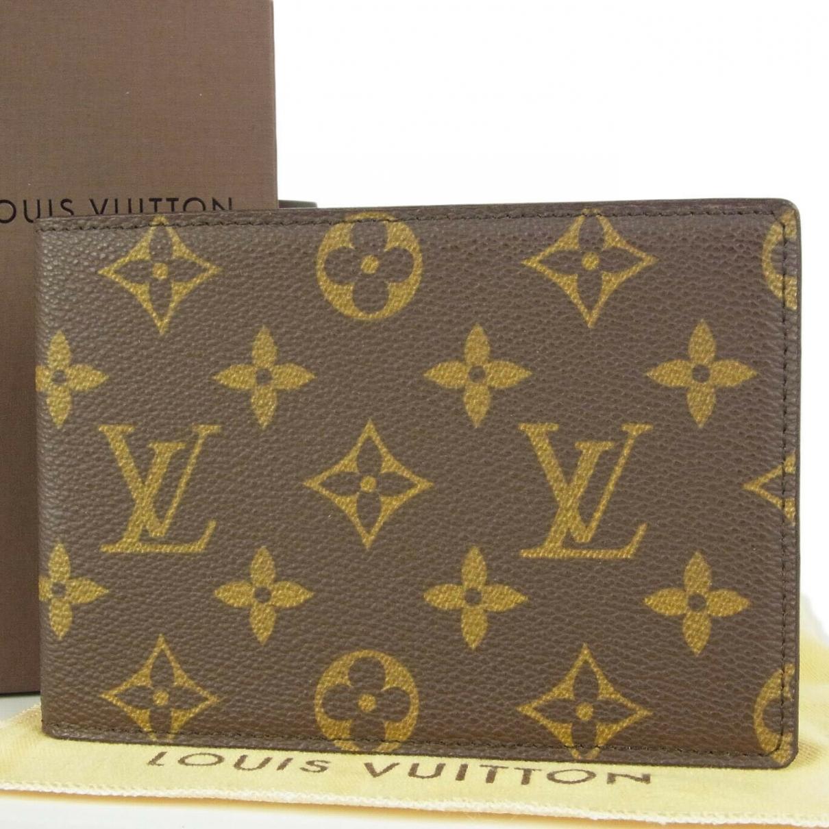 Tarjetero de Cuero Louis Vuitton