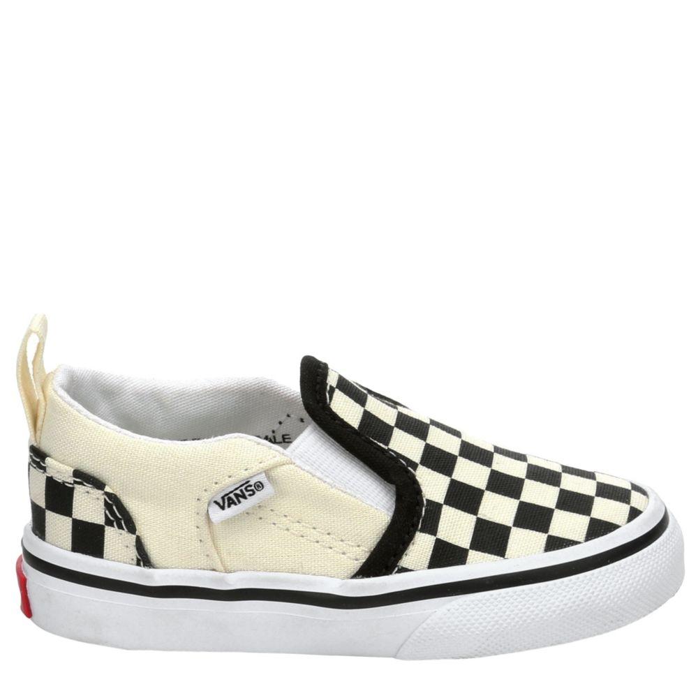 Vans Boys Infant Asher Slip-On Shoes Sneakers