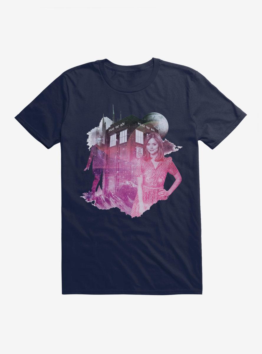 Doctor Who TARDIS Pastel Clara T-Shirt