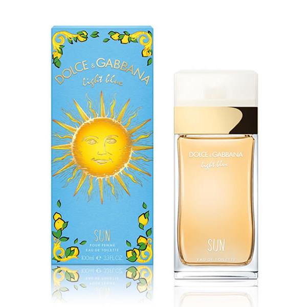 Dolce & Gabbana - Light Blue Sun Pour Femme : Eau de Toilette Spray 3.4 Oz / 100 ml