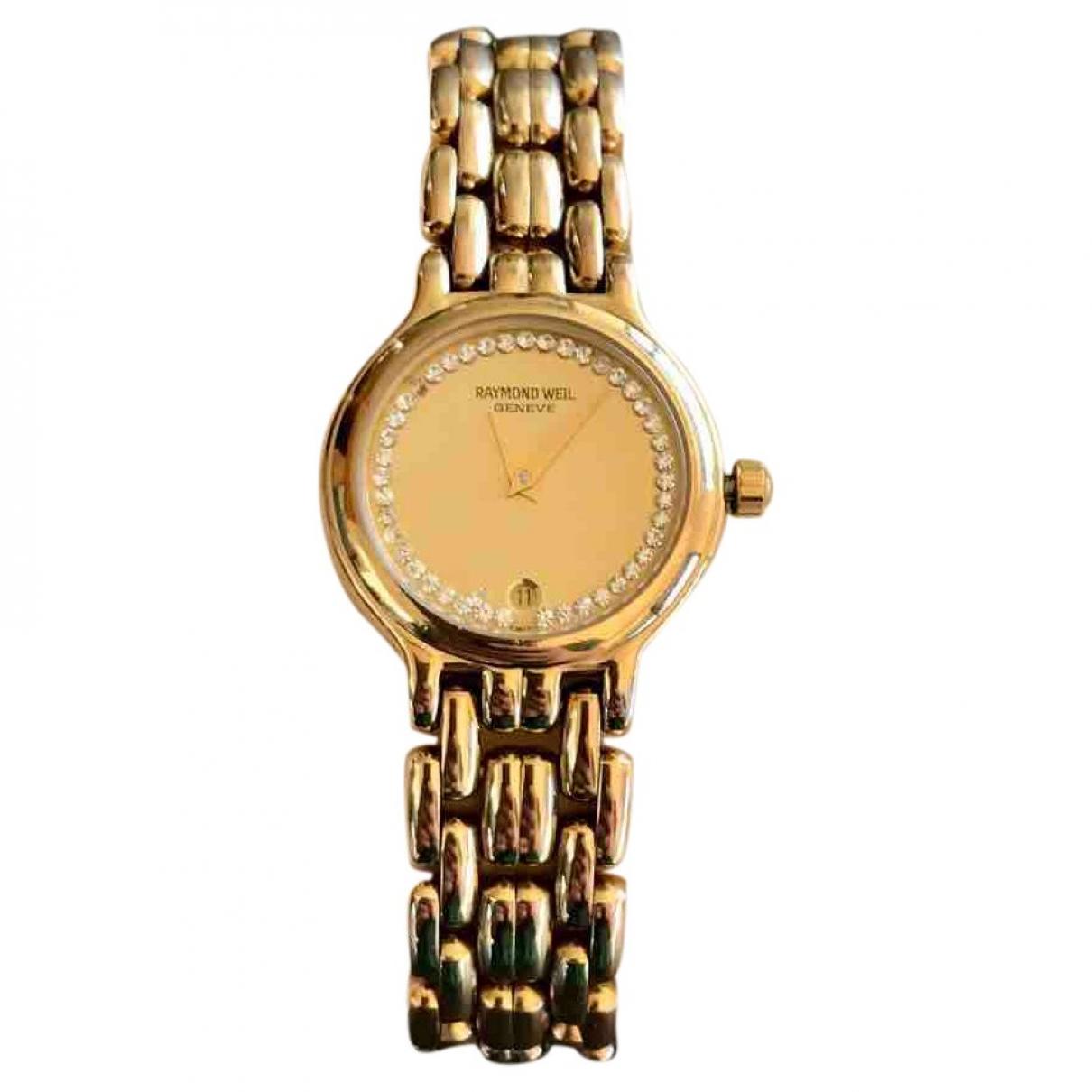 Raymond Weil \N Uhr in  Gold Vergoldet