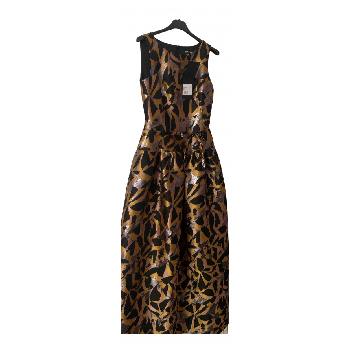 Paule Ka \N Kleid in  Silber Polyester