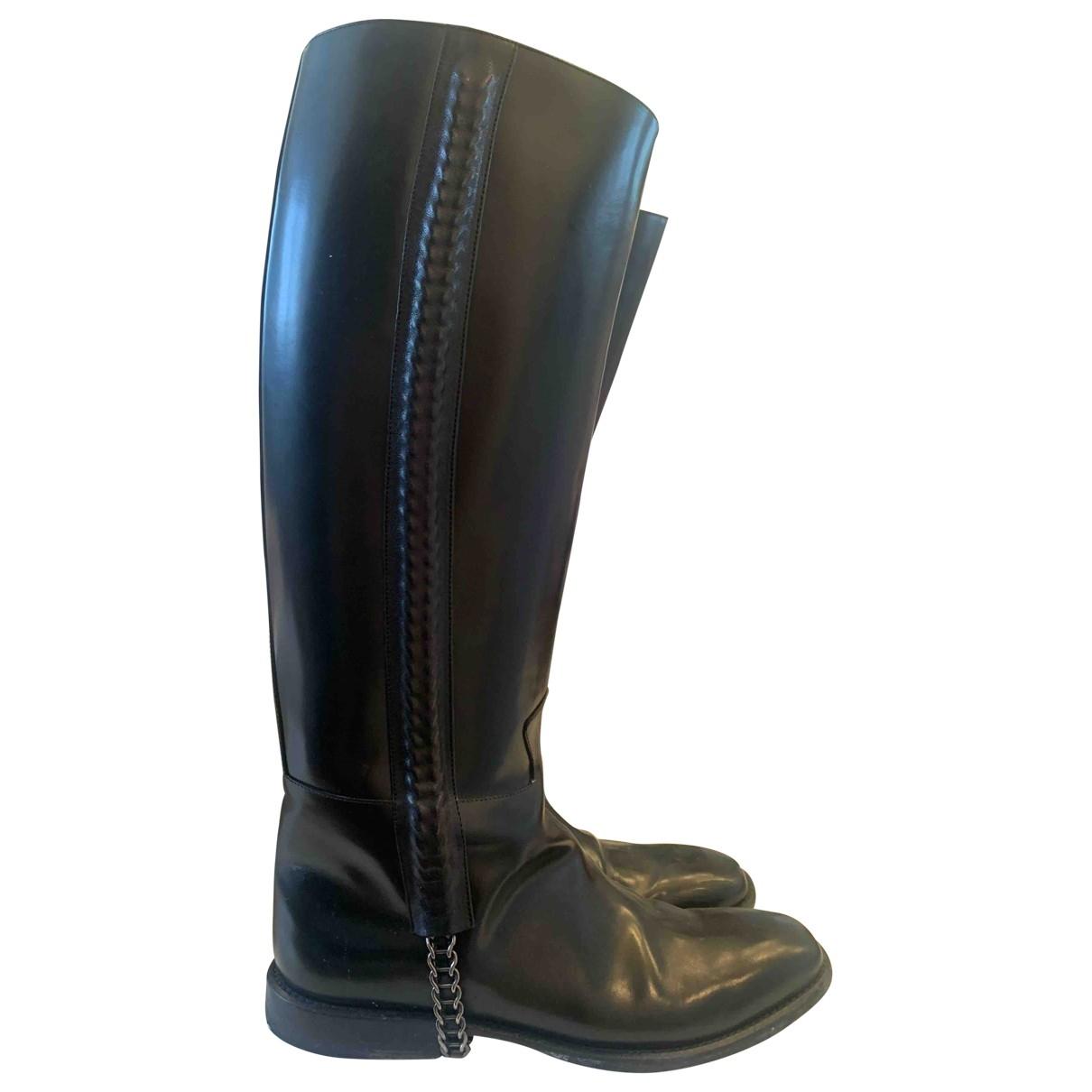 Botas altas de Cuero Givenchy