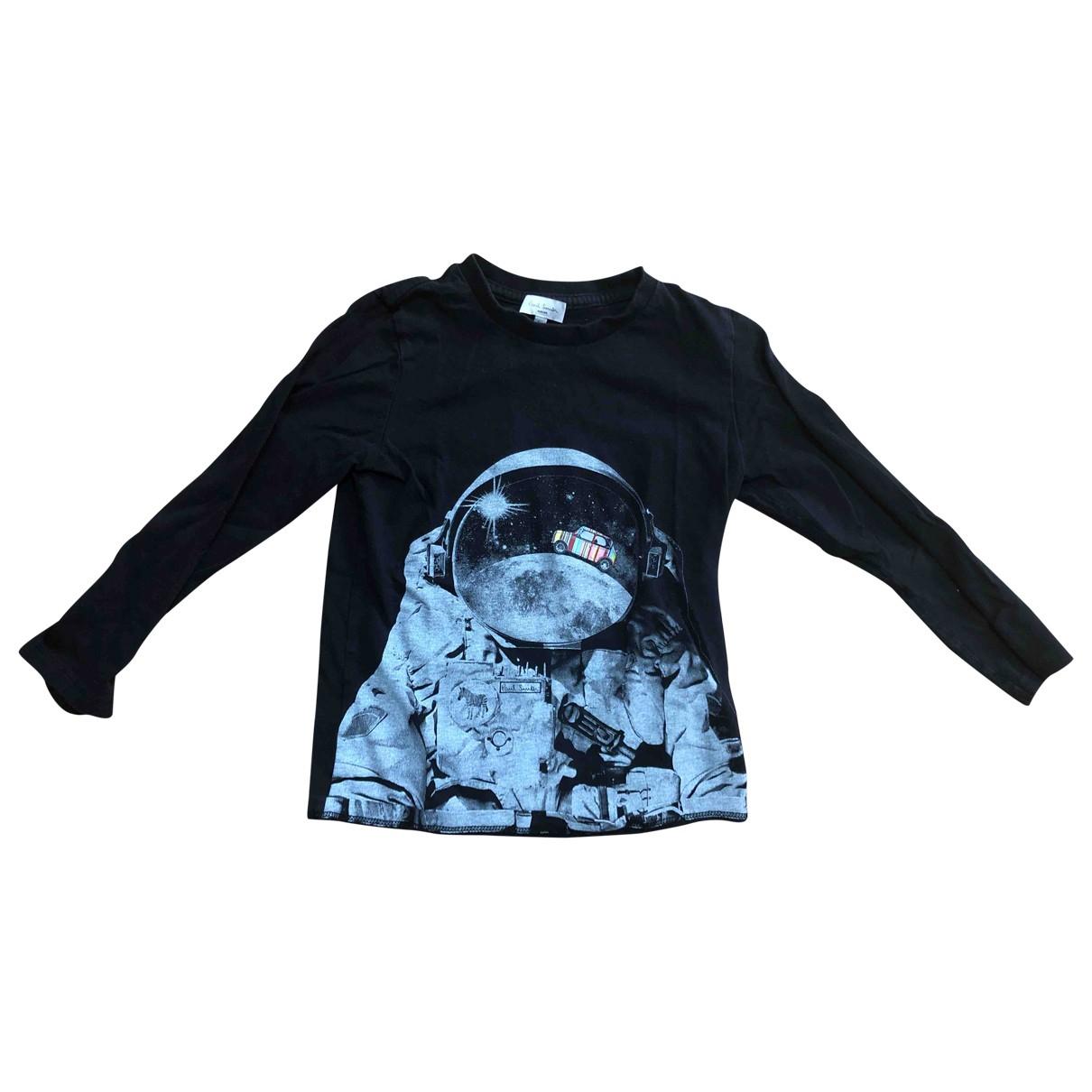 Paul Smith - Top   pour enfant en coton - noir