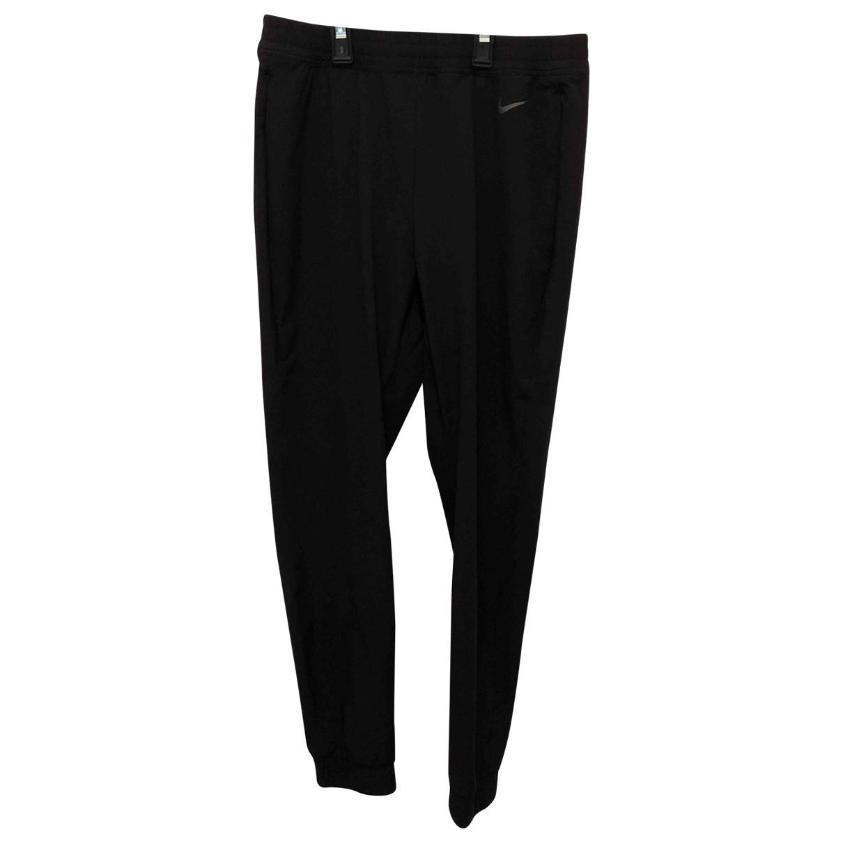 Pantalones en Sintetico Negro Nike