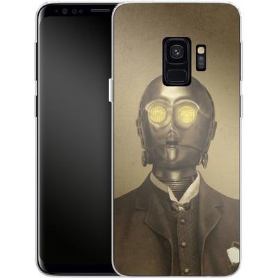 Samsung Galaxy S9 Silikon Handyhuelle - Baron Von 3PO von Terry Fan
