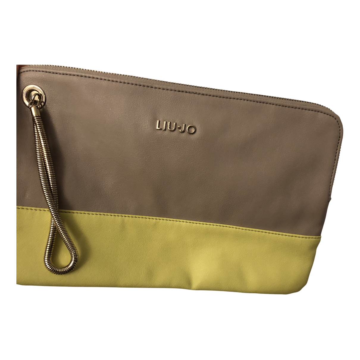 Liu.jo N Beige Leather Clutch bag for Women N