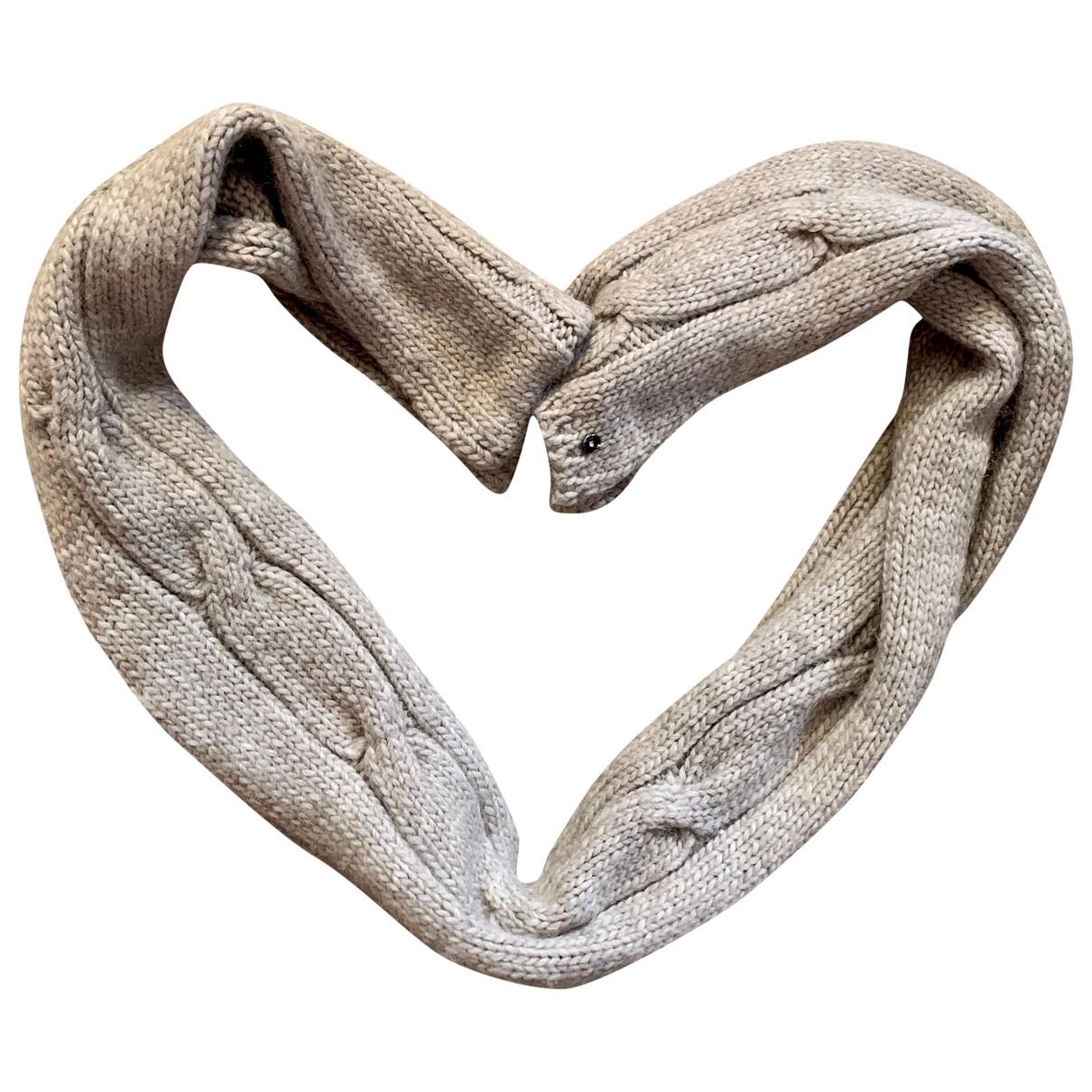 Pinko \N Schal in  Beige Wolle