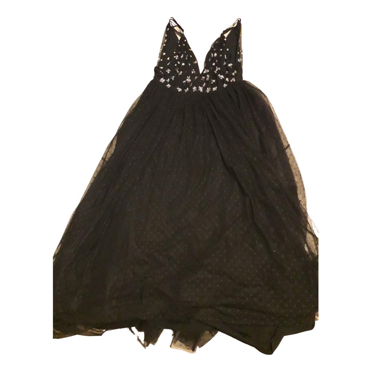 Needle & Thread \N Kleid in  Schwarz Mit Pailletten
