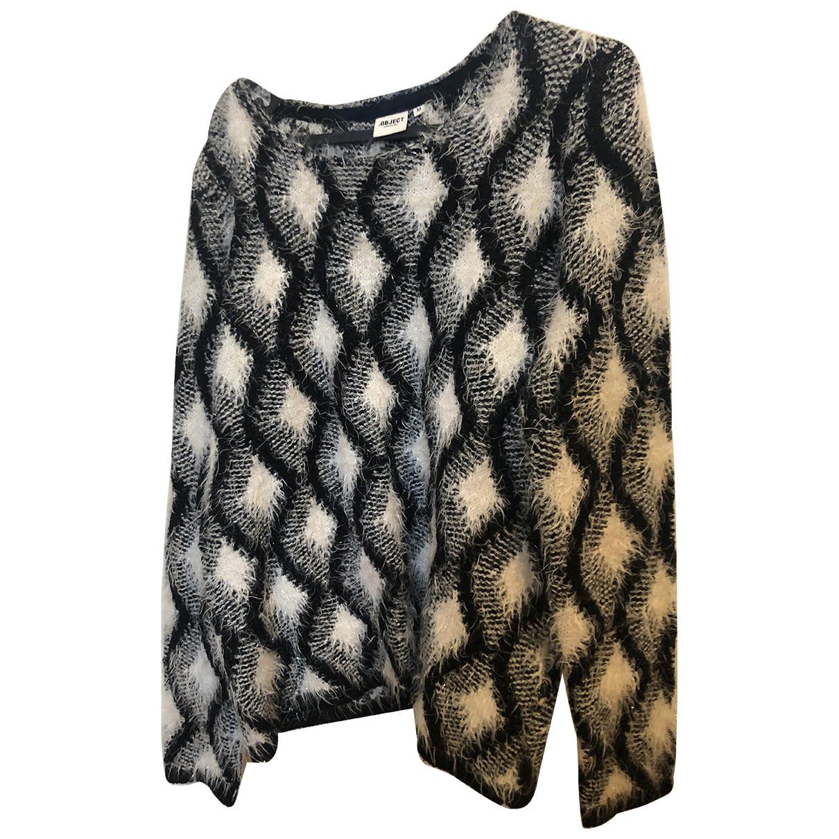 Non Signé / Unsigned \N Grey Wool Knitwear for Women 36 FR
