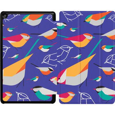 Amazon Fire HD 8 (2018) Tablet Smart Case - Birds Talk von Susana Paz