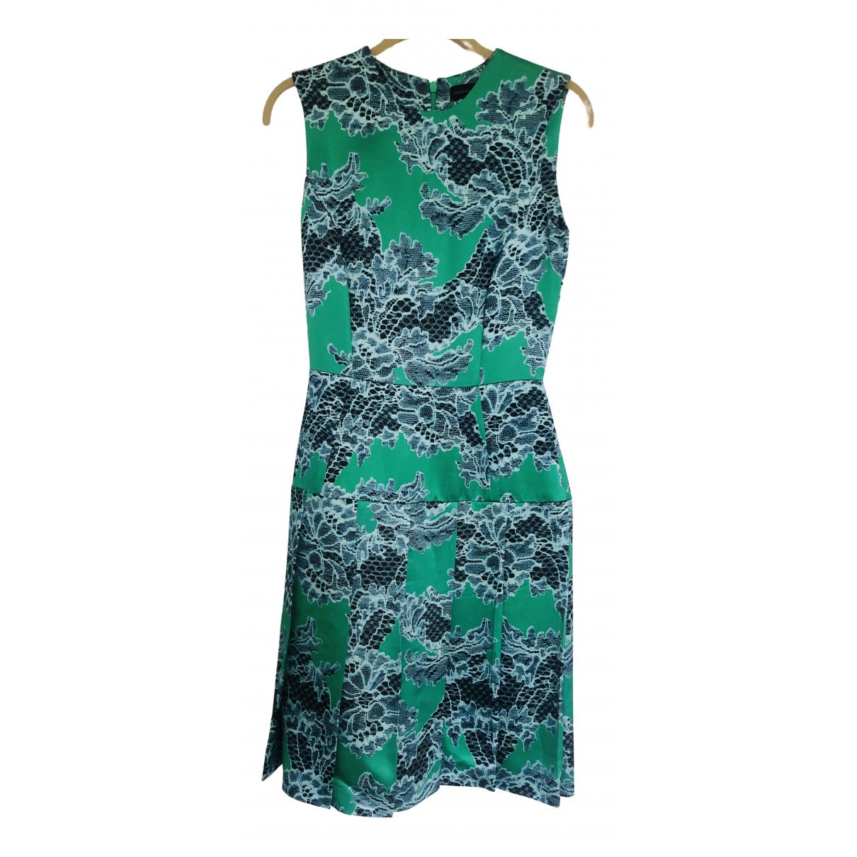 Jonathan Saunders \N Kleid in  Gruen Viskose