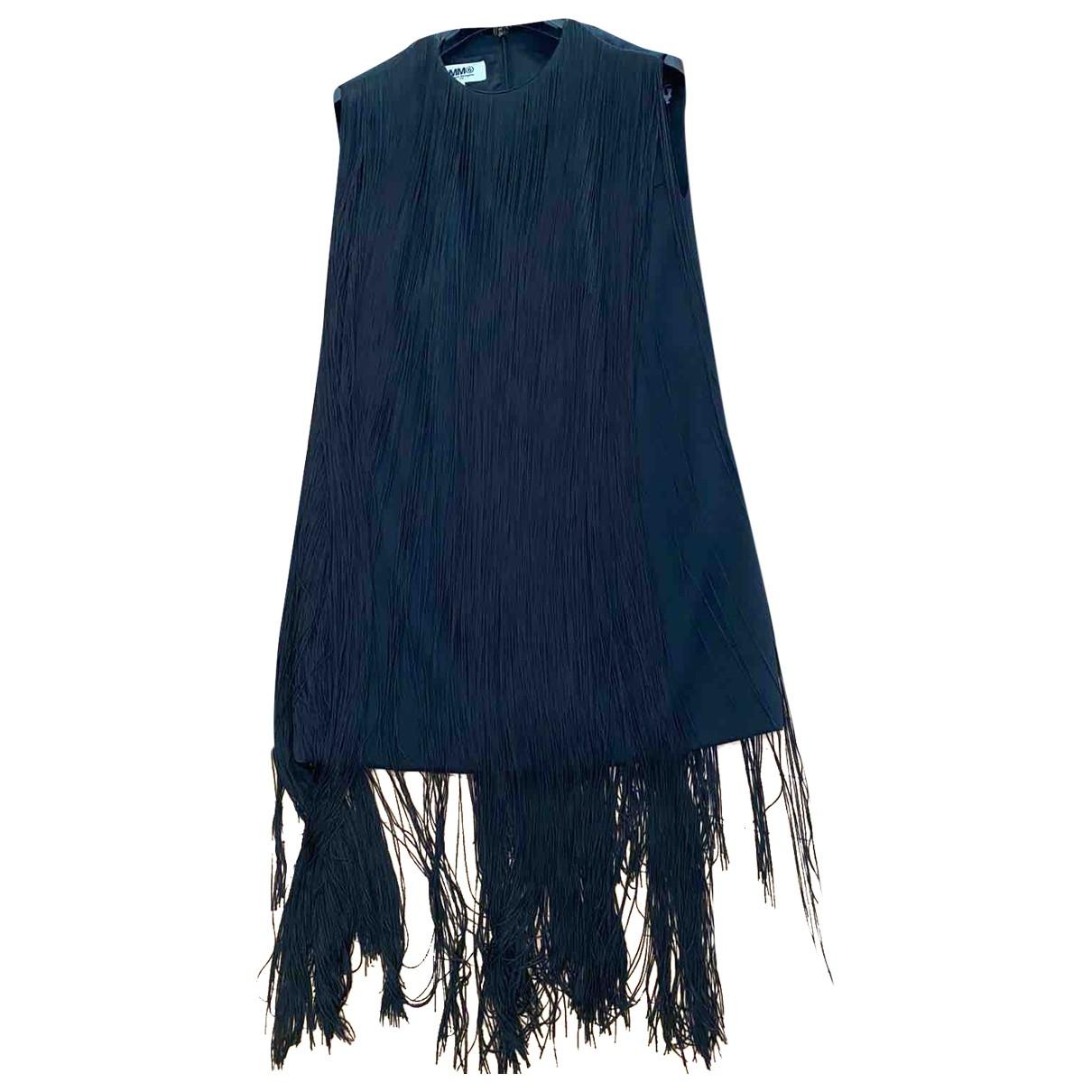 Mm6 \N Kleid in  Schwarz Wolle