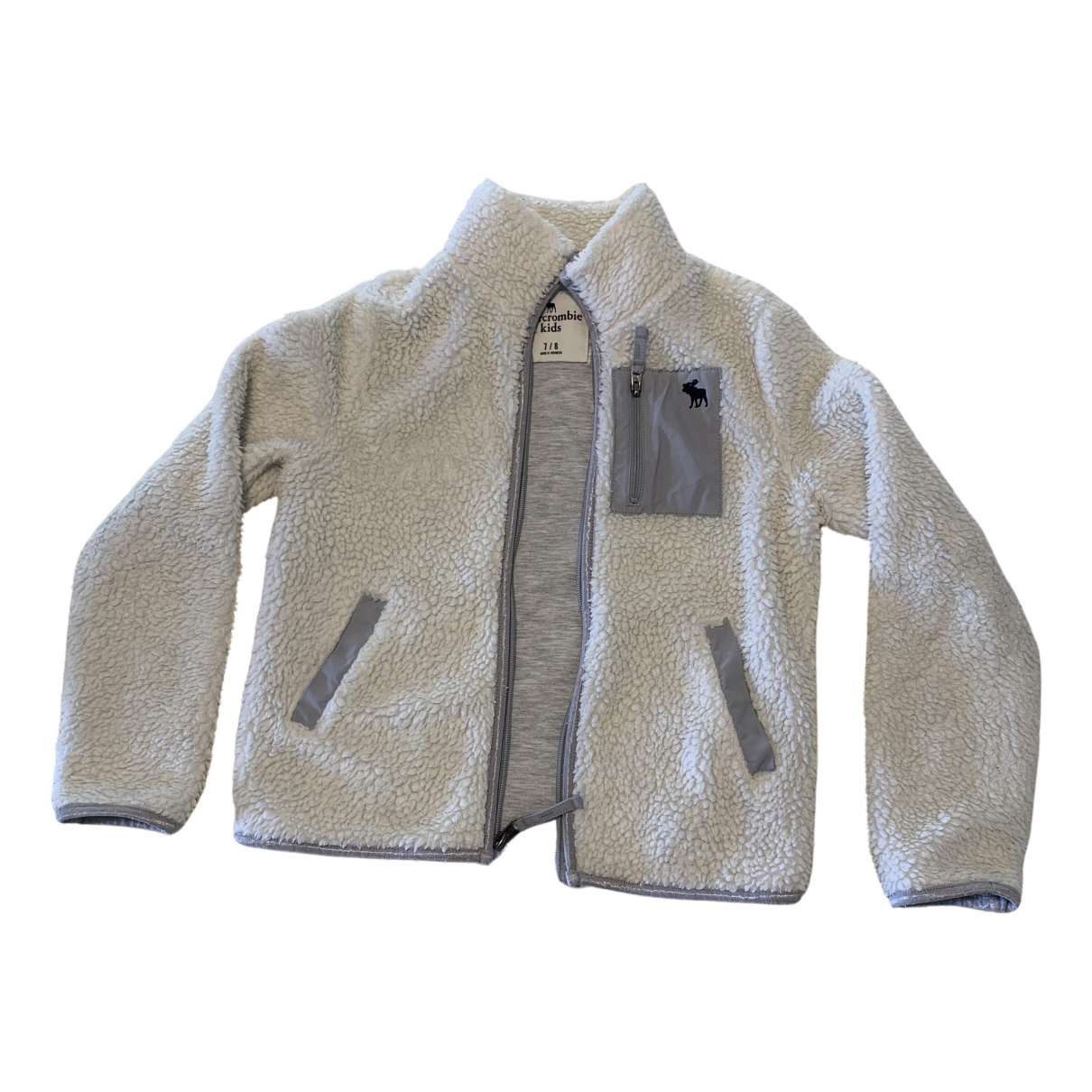 Abercrombie & Fitch \N White Cotton Knitwear for Kids 8 years - up to 128cm FR