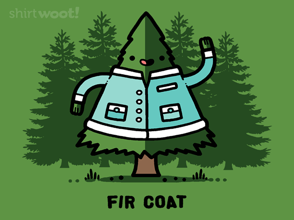 Fir Coat T Shirt