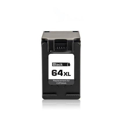 Remanufactured HP 64XL N9J92AN Black Ink Cartridge High Yield - Economical Box