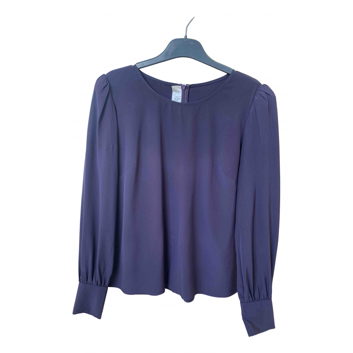 Goat \N Purple Silk  top for Women 10 UK