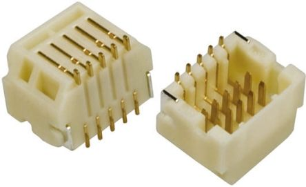 Hirose , DF20, 20 Way, 2 Row, Right Angle PCB Header (5)
