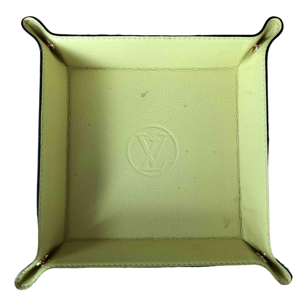 Louis Vuitton - Objets & Deco   pour lifestyle en cuir - jaune