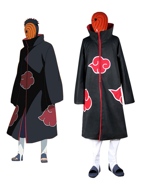 Milanoo Halloween Naruto Uchiha Madara Akatsuki Halloween Cosplay Disfraz