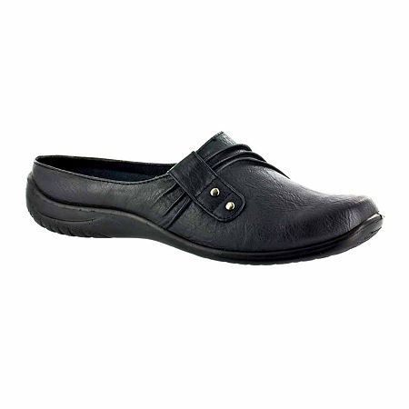 Easy Street Womens Holly Slip-On Shoe, 7 1/2 Extra Wide, Black