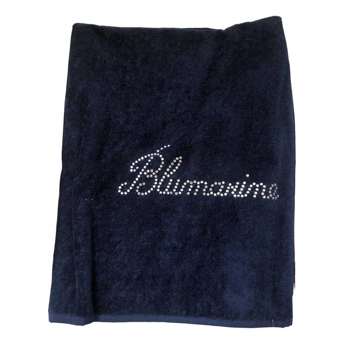 Blumarine - Linge de maison   pour lifestyle en eponge - bleu
