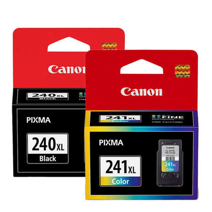 Canon PIXMA TS5100 Original Ink Cartridges Black & Colour Combo, 2 pack - High Yield