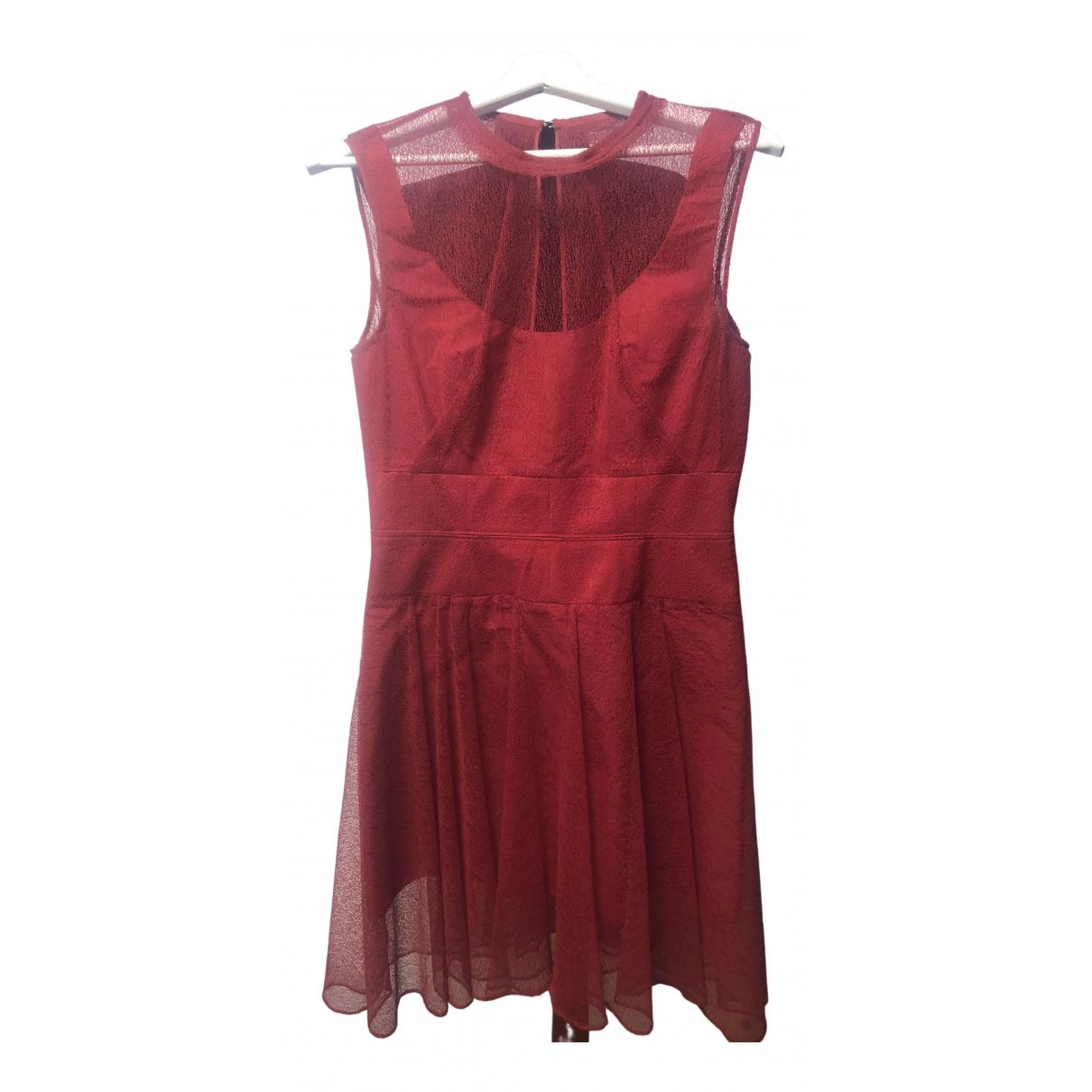 Carven \N Kleid in  Rot Spitze