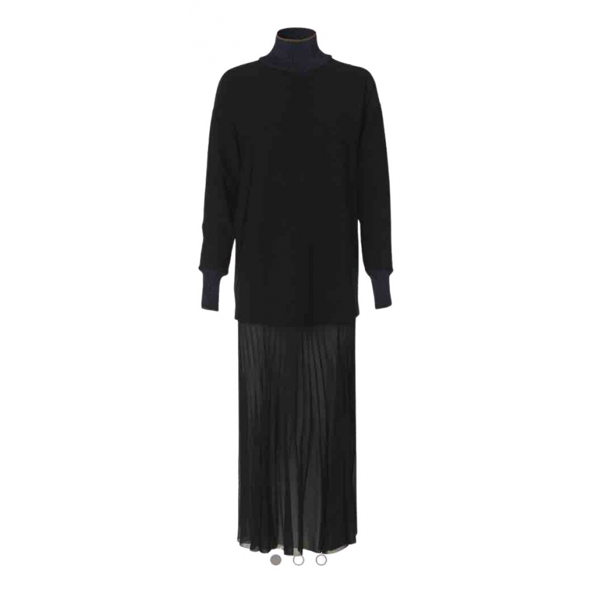 By Malene Birger - Robe   pour femme en coton - elasthane - noir