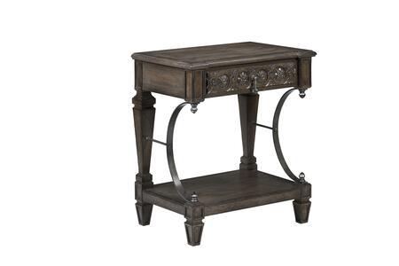 231141-2812 Vintage Salvage Gabriel Bedside Table in