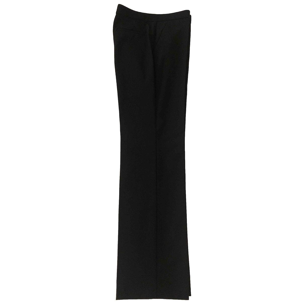 Versace \N Hose in  Schwarz Wolle