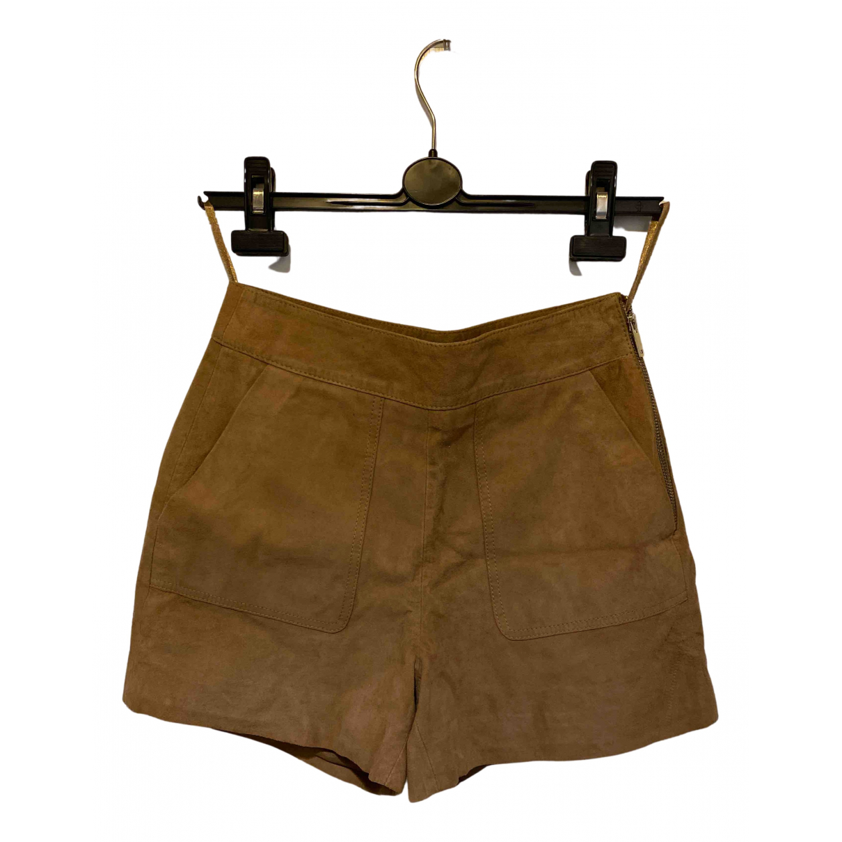 Reiss N Brown Suede Shorts for Women 6 UK