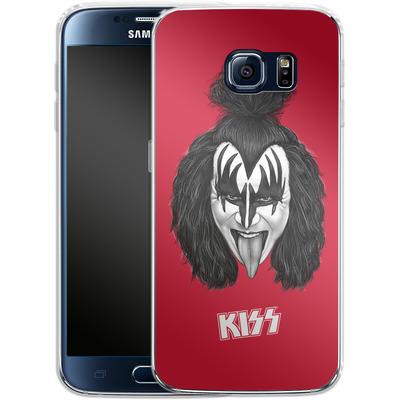 Samsung Galaxy S6 Silikon Handyhuelle - The Demon von KISS®