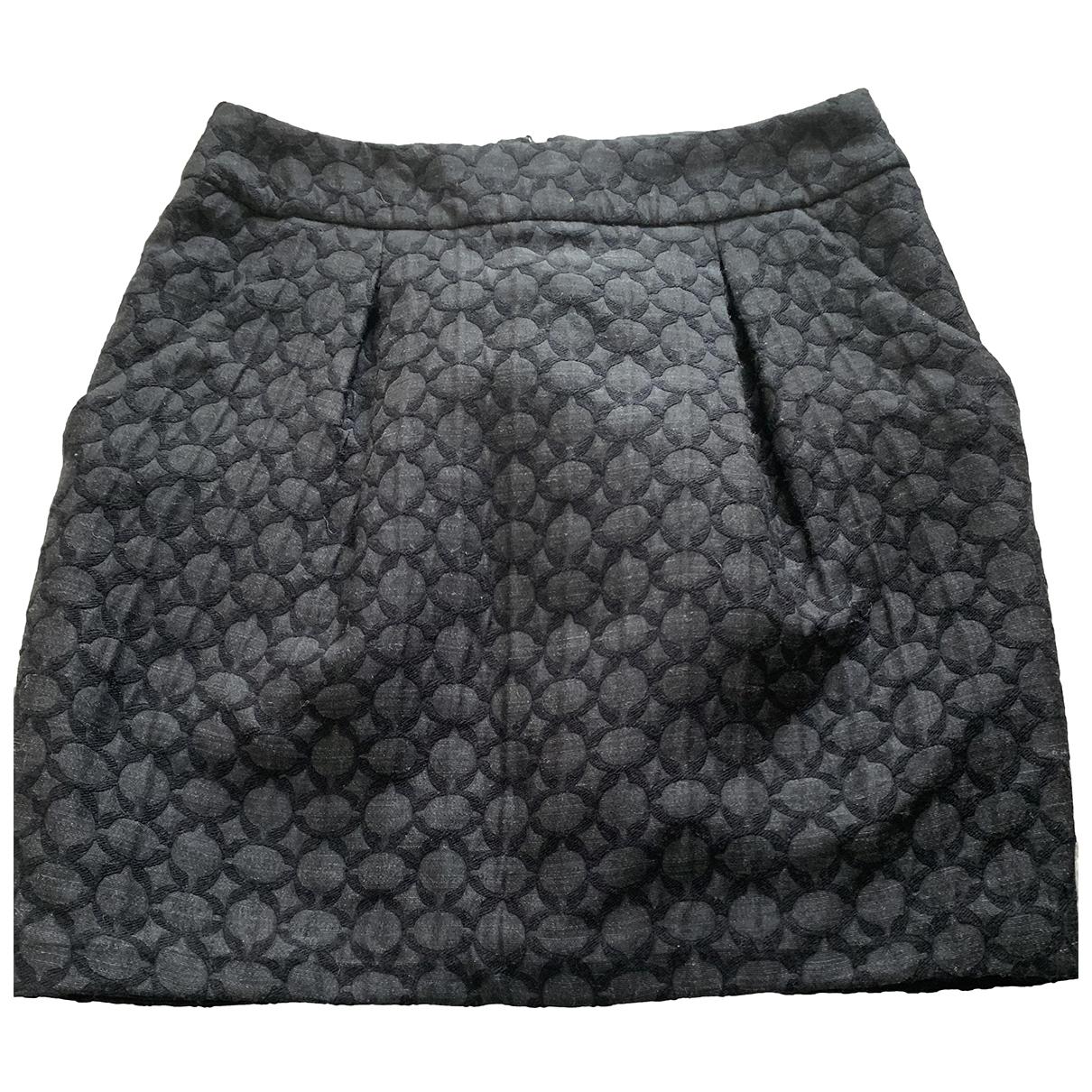 Tara Jarmon - Jupe   pour femme en coton - noir